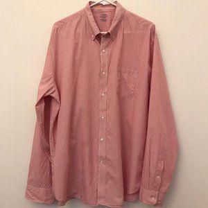 J. Crew Lightweight Button Down Striped Shirt XL